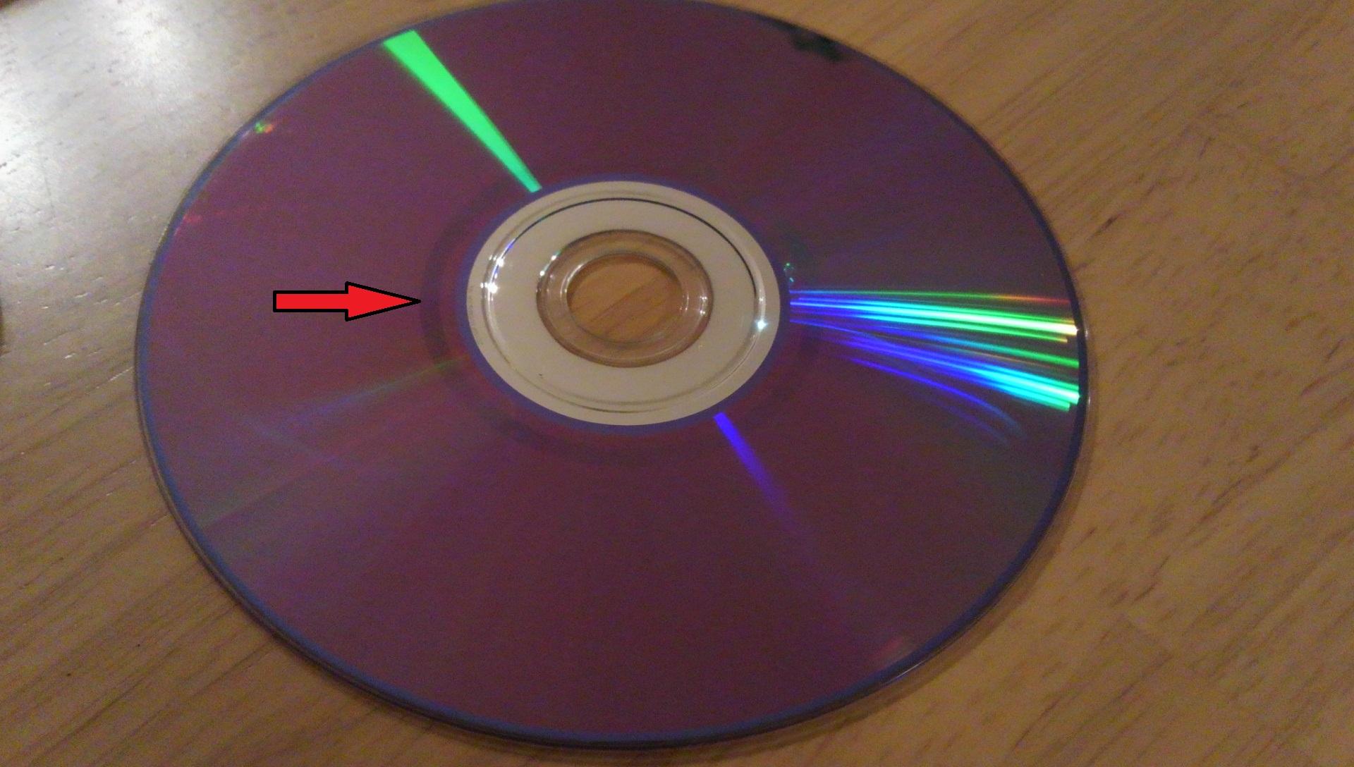 CD/DVDのデータが保存されているか見る方法